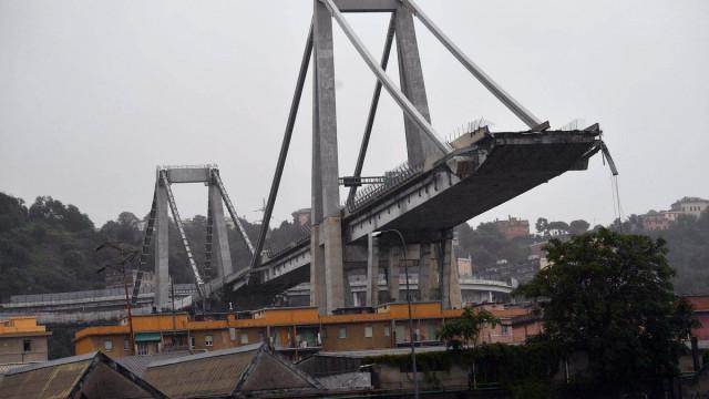 Governo italiano fala em mais de uma dezena de mortos em Génova