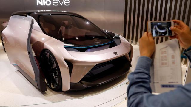 Rival chinês da Tesla prepara-se para entrar em Wall Street