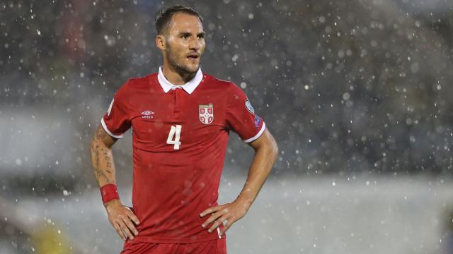 Sporting: Nemanja Gudelj será apresentado ainda esta quinta-feira