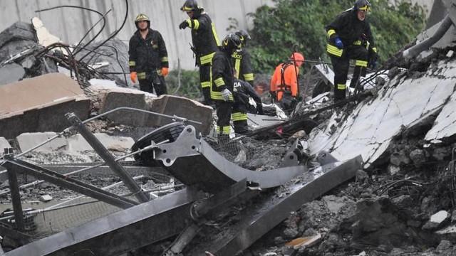 Génova: Vídeo mostra momento de resgate de um dos feridos