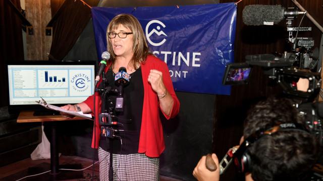 Democratas elegem primeira candidata transgénero a governadora nos EUA