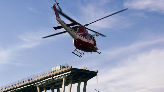 Balanço provisório de 35 mortes em desabamento de ponte em Itália