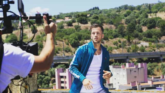 """Wow""! David Carreira atinge marco no YouTube"