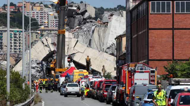 Governo declara estado de emergência por um ano em Génova