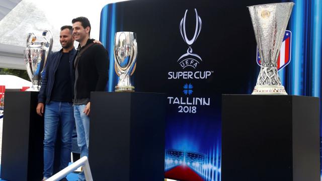 Real Madrid-Atlético Madrid: Já são conhecidos os onzes