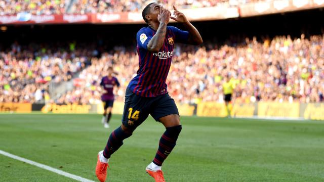 Chegou no verão e já quer ir embora: Malcom quer deixar o Barcelona