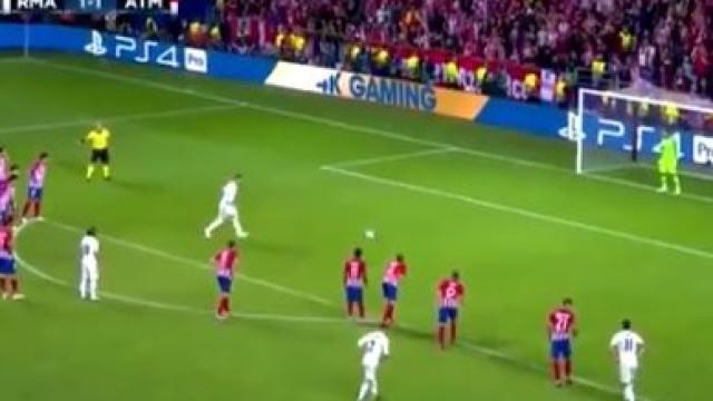 Sergio Ramos faz de CR7 e dá vantagem ao Real de grande penalidade