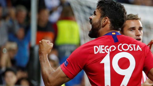 [2-2] Diego Costa é nome de goleador! Está feito o segundo do Atlético