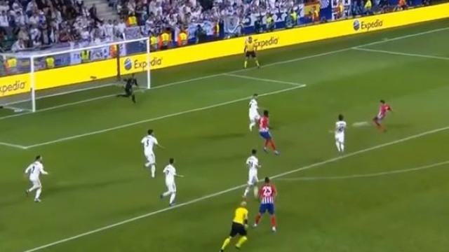 Koke carimba o quarto golo do Atlético com assistência de Vitolo