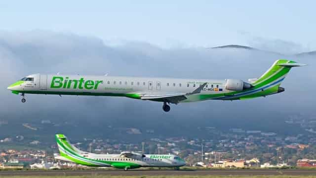 Contrato da Binter na linha Madeira-Porto Santo prorrogado por 2 meses