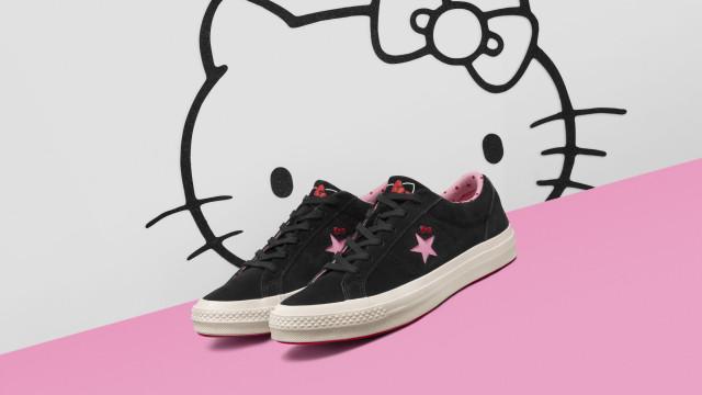 A gatinha japonesa mais famosa do mundo juntou-se à Converse