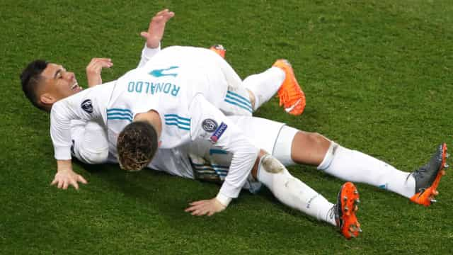 """Casemiro: """"Daria a Bola de Ouro ao Cristiano Ronaldo"""""""