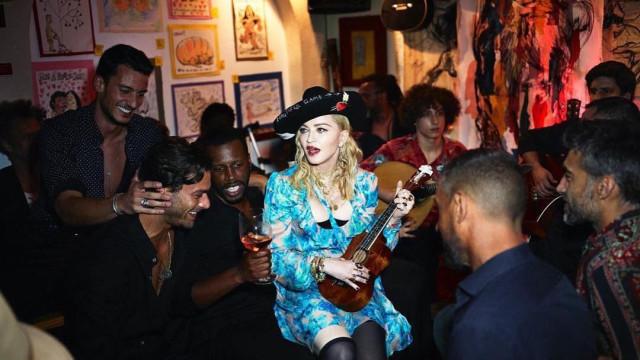 Modelo português fotografa com Madonna para a Vogue Itália