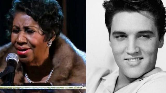 O Rei do Rock e a Rainha do Soul morreram no mesmo dia