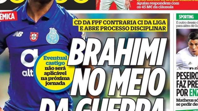 Revista de imprensa: Os desejos do leão e a 'guerra' de Brahimi