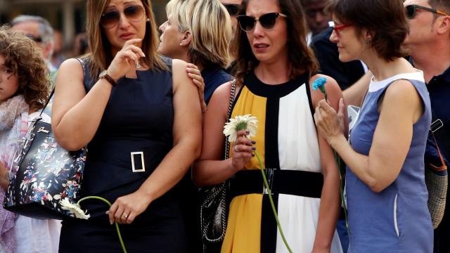 Normalidade domina cerimónias em Barcelona apesar de incidentes pontuais