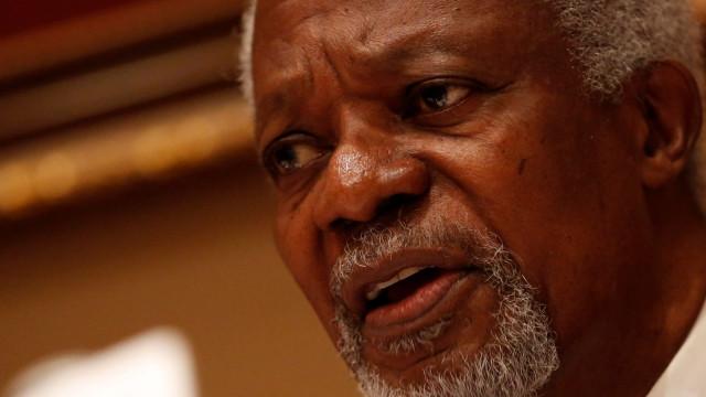 Kofi Annan: Embaixador na Nigéria representa Portugal no funeral