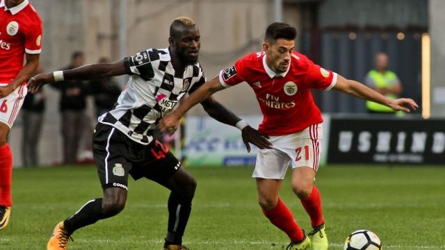 Boavista-Benfica: Já há onzes no Bessa