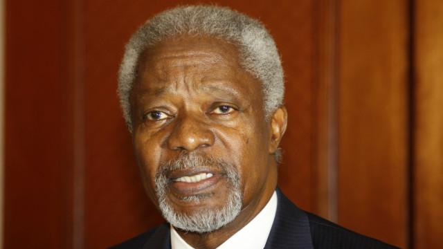 Kofi Annan será enterrado na quinta-feira no seu Gana natal