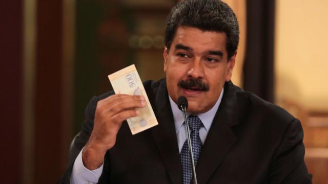 Maduro anuncia recolha de assinaturas para exigir fim das ameaças dos EUA