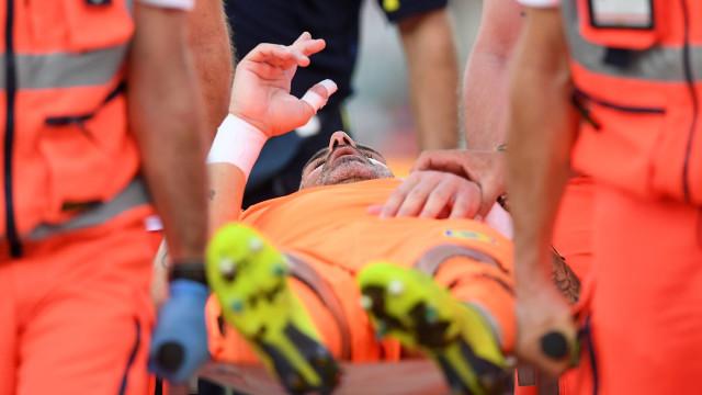 A mensagem do guardião do Chievo após o choque com Ronaldo