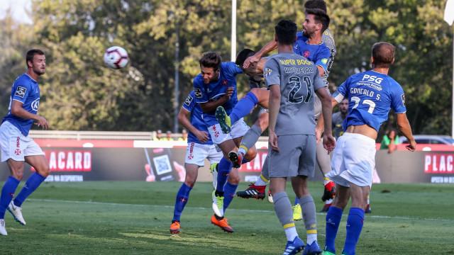 [1-2] Belenenses SAD-FC Porto: Fredy reduz de penálti