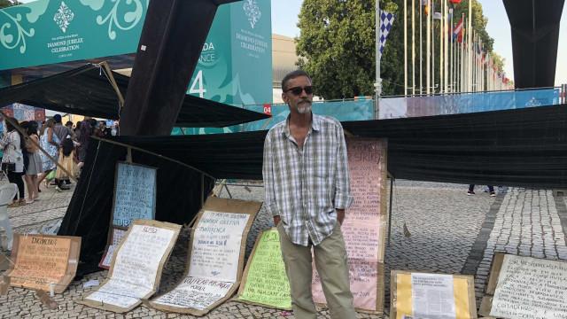 Há meses em protesto junto ao Vasco da Gama, Pedro tem até hoje para sair