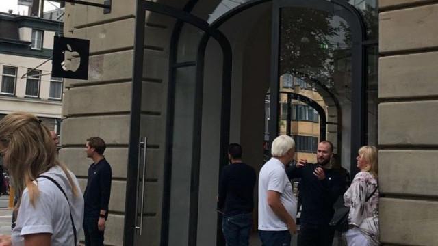 Explosão de iPad obriga a evacuar loja da Apple