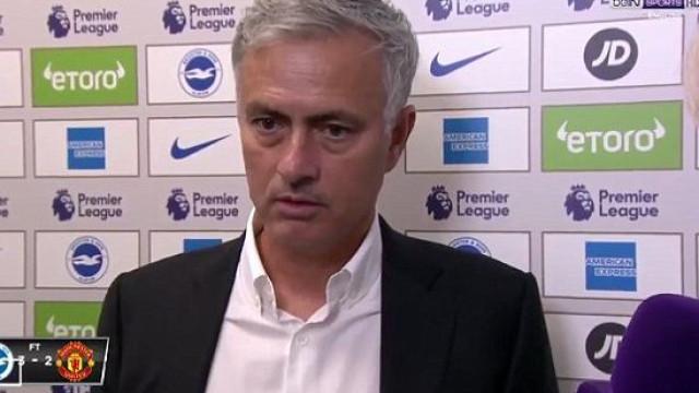Resposta de Mourinho a uma jornalista está a gerar polémica em Inglaterra