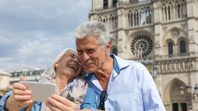 Viajar aumenta bem-estar dos idosos e diminui ansiedade