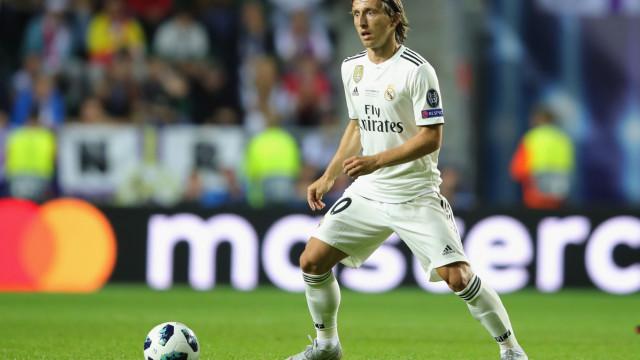Modric nega ter pedido ao Inter para fazer oferta pelo seu passe