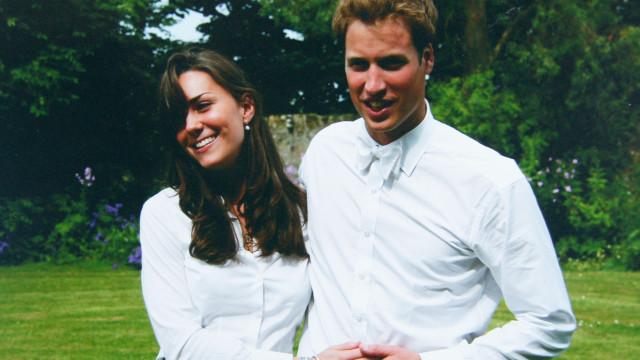 """Recorde: Um dos primeiros encontros de Kate e William foi """"estranho"""""""
