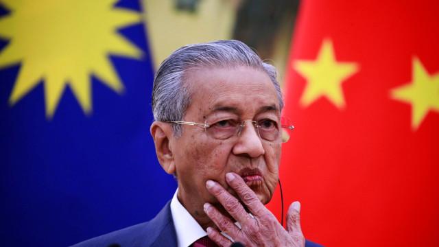 Primeiro-Ministro malaio cancela projetos financiados pela China no país
