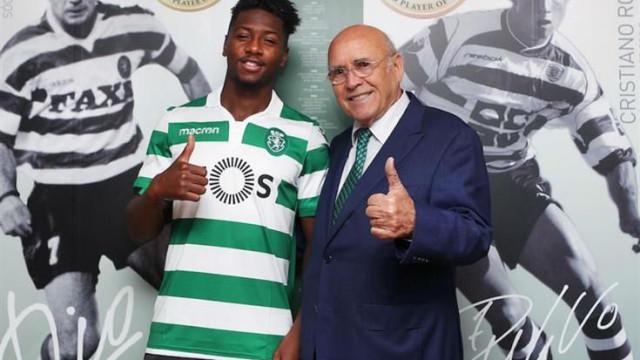 Sporting oficializa Diaby por cinco temporadas