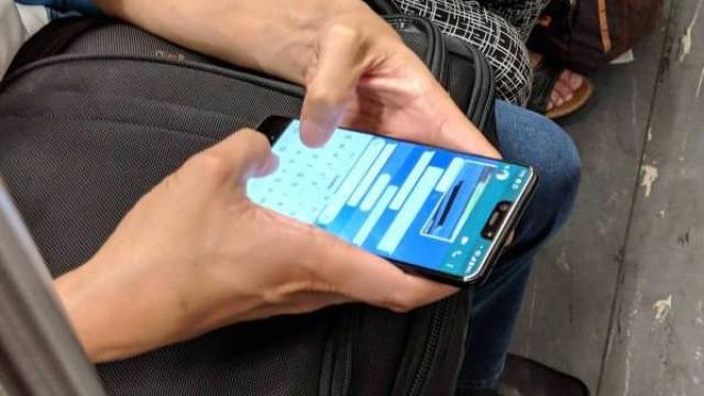 O Pixel 3 XL não passou despercebido em público