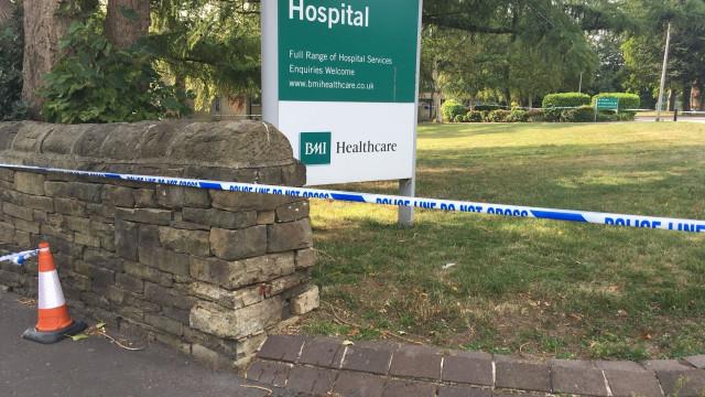 """Polícia encerra hospital no Reino Unido devido a """"incidente grave"""""""