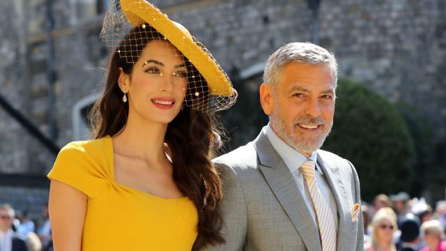 As mordomias que Harry e Meghan Markle receberam na casa de Clooney