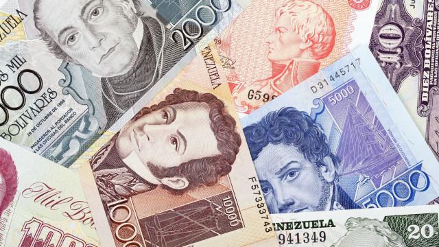 Venezuela: Moeda perdeu 24,4 vezes o seu valor em cinco dias