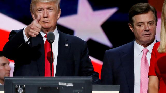 Trump está a equacionar perdão presidencial a Paul Manafort