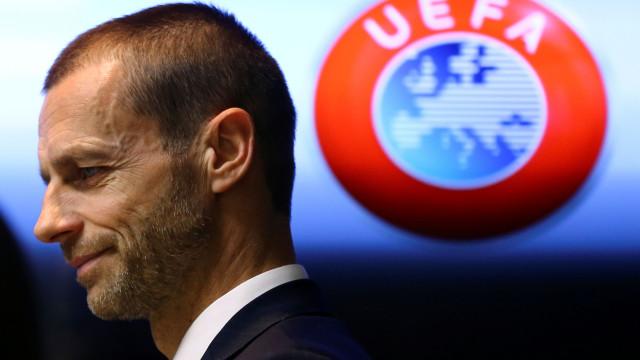 Presidente da UEFA admite final da Champions fora da Europa