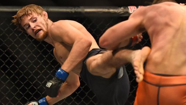 Jovem lutador de UFC decide guardar berbequim nas calças. Rasgou pénis