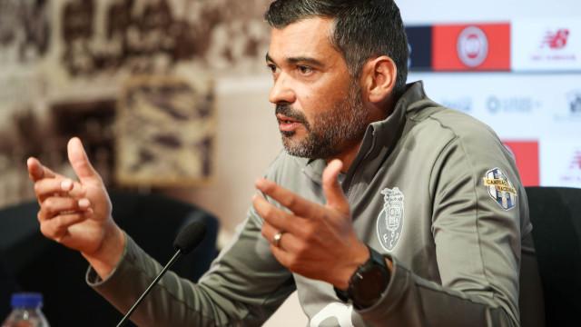 """Sérgio Conceição: """"Este é um grupo perigoso"""""""