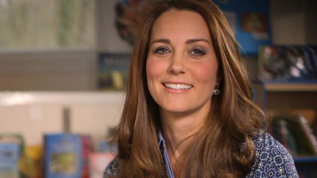 Kate Middleton tem uma enorme cicatriz perto da cara e ninguém reparou