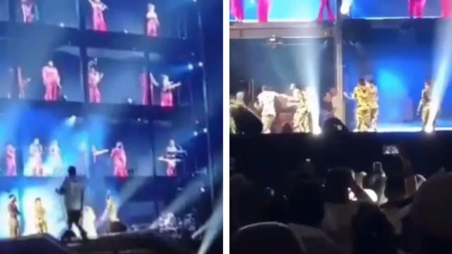 Concerto de Beyoncé e Jay-Z acaba com invasão de palco