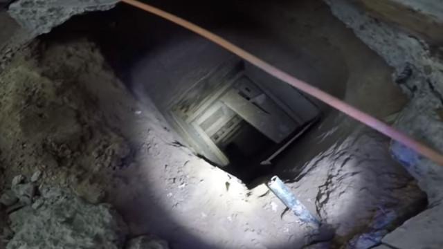 Túnel de passagem de droga descoberto por baixo de restaurante KFC