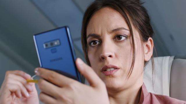 O novo anúncio da Samsung mostra-lhe as vantagens de um Galaxy Note 9