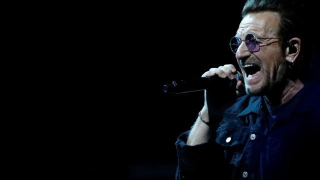 """O sério texto de Bono sobre a Europa. """"A Paz está a ser ameaçada"""""""