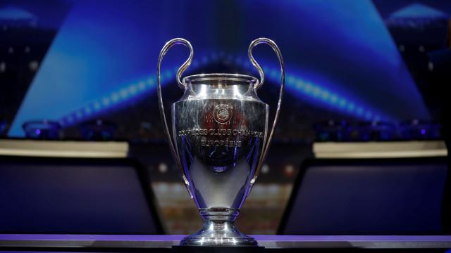 Champions: Siga, em direto, todos os resultados e marcadores dos oitavos