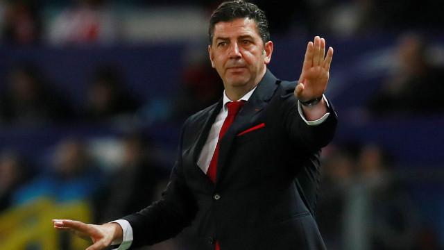 Benfica confirma acordo para rescisão de contrato de Rui Vitória