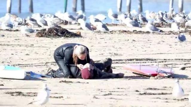 Médica salva homem após colapso no primeiro encontro